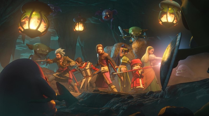 Dragon Quest XI Loyal Companions Introduced In Latest Trailer