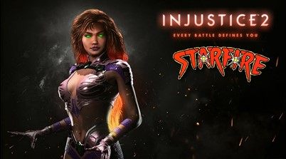 Starfire Announced for Injustice 2, Bizarro Teased!