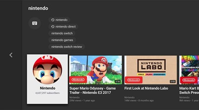 YouTube App for the Nintendo Switch Goes Live Today