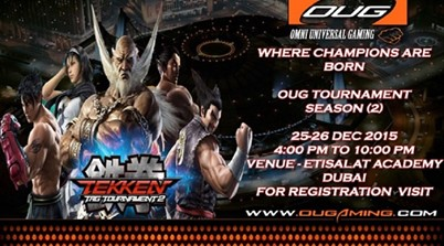 OUG Tekken Tag Tournament 2  KOF GCC begins