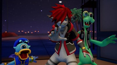 See The Monsters Inc. Form Of Sora, Donald, And Goofy In KH3's Latest Trailer