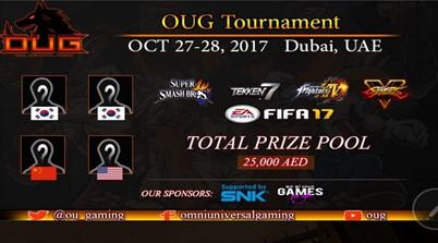 OUG Tournament Online Registration Live Now!
