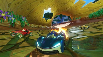 Sega's Top Secret Sonic The Hedgehog Racing Game Leaked!
