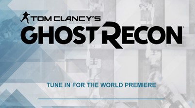 Ghost Recon World Premier Coming This Week
