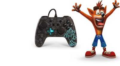 Crash Gets His Very Own Custom Themed Controller For The Nintendo Switch