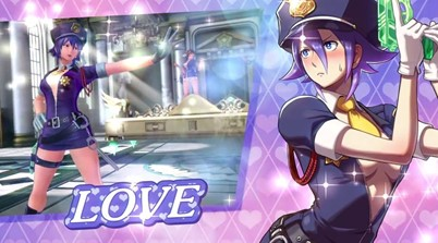 Love Heart Revealed For SNK Heroines Tag Team Frenzy
