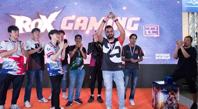 Pakistan Player Awais Honey Dominates Rox 'n Roll Dubai 2019